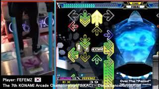 The 7th KAC DDR 決勝Final(FEFEMZさん[KOR] only)