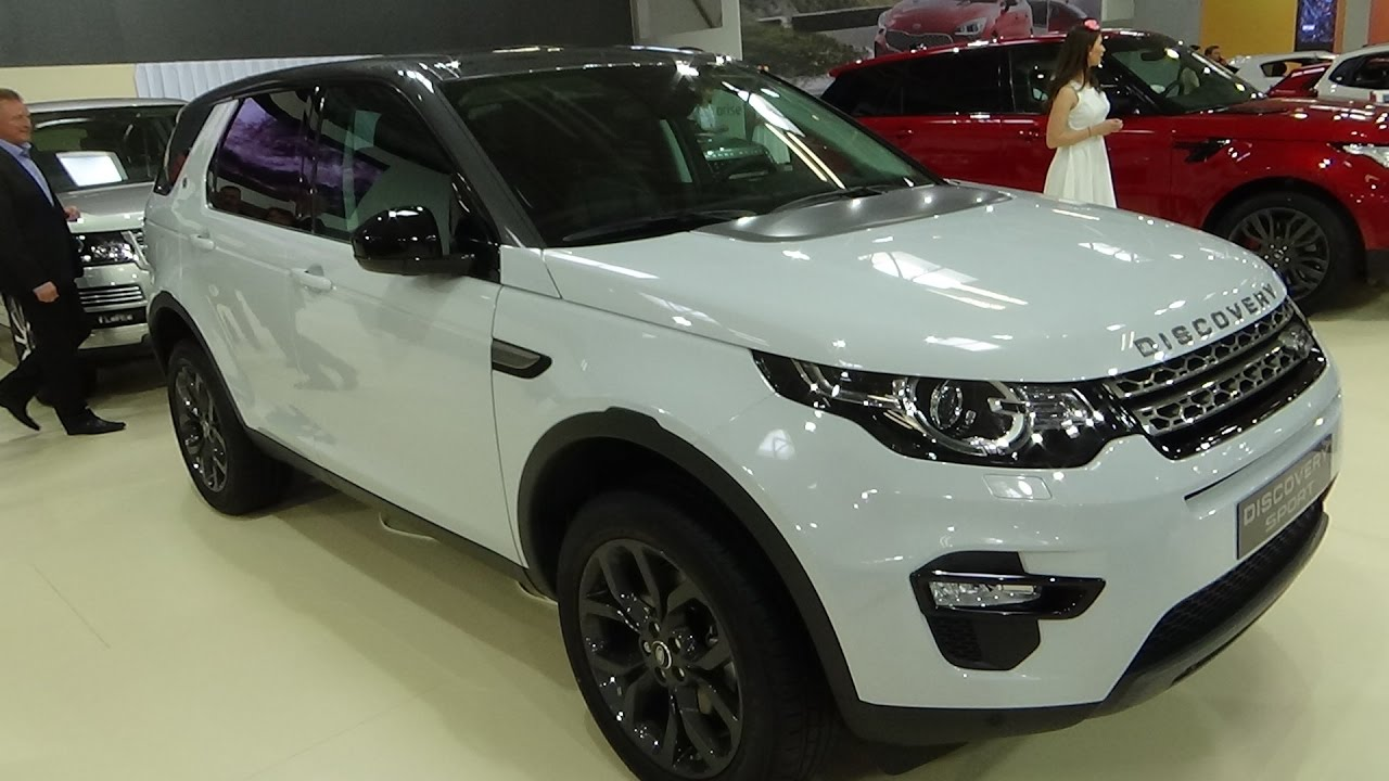 2018 Land Rover Discovery Sport  Exterior and Interior  Auto