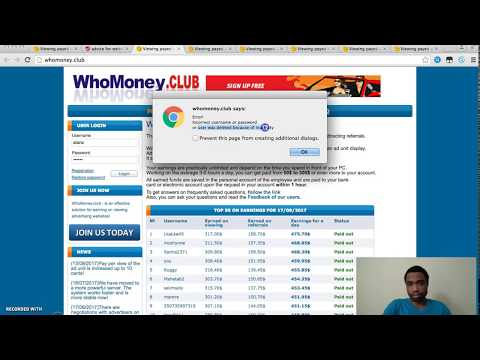 Webmoney.host Scam Review | I Will SHow You How To Earn Money Online For Free