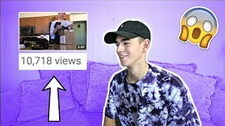 REACTING TO MY MOST VIEWED VIDEO! (10K+ Views)