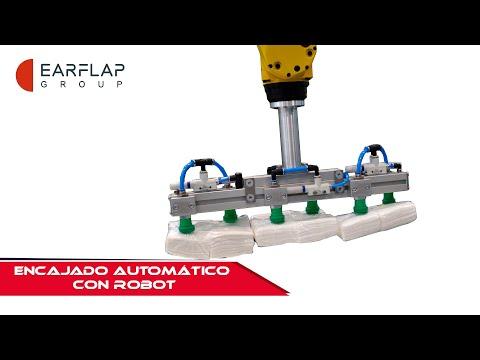 ENCAJADO AUTOMÁTICO CON ROBOTS // EAR-FLAP®