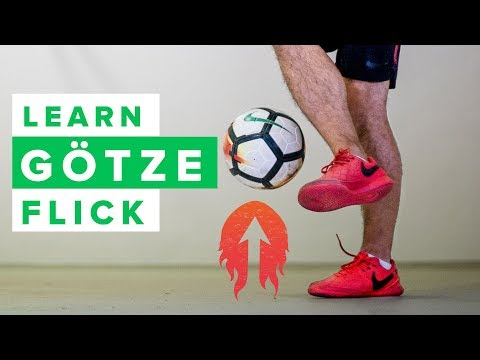 LEARN THE GÖTZE FLICK | How to do this cool football skill