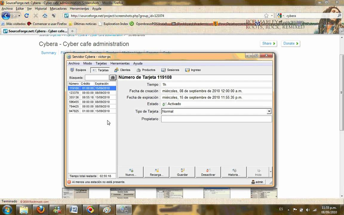 cybera client pour windows 7