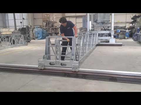 Işıklık Temizleme Sistemi, Gantry Platform, Skylight Access Equipment