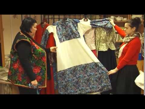 Традиционная казачья одежда. Казачий этнокультурный комплекс Наследие