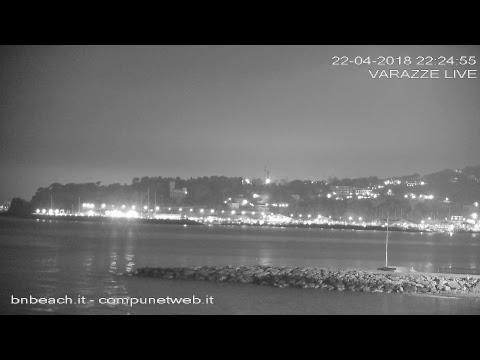 """Voglio Portarti """"il Mare"""" - Varazze Live Webcam - BnBeach.it"""