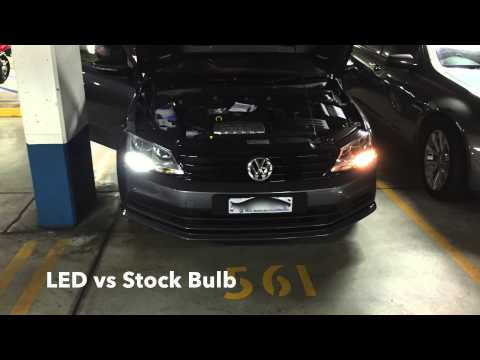 LED DRL 1156 upgrade on 2015 VW Jetta