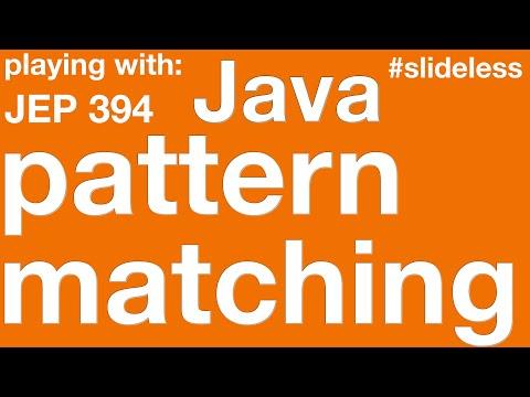 Java's Pattern Matching