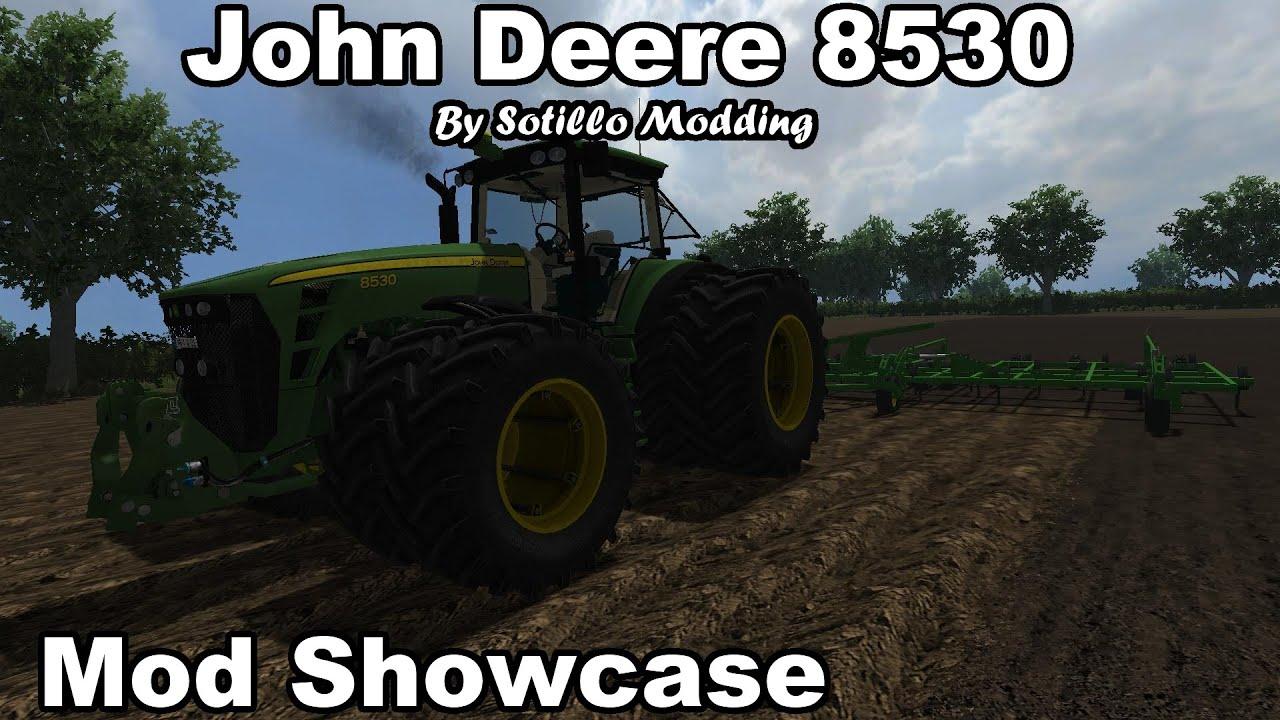 Farming Simulator 2013 John Deere 8530 By Sotillo Modding Mod