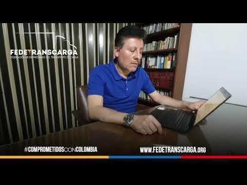 ARNULFO CUERVO. Vicepresidente de Fedetranscarga