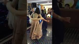 Brides Sisters Performing at the Sangeet