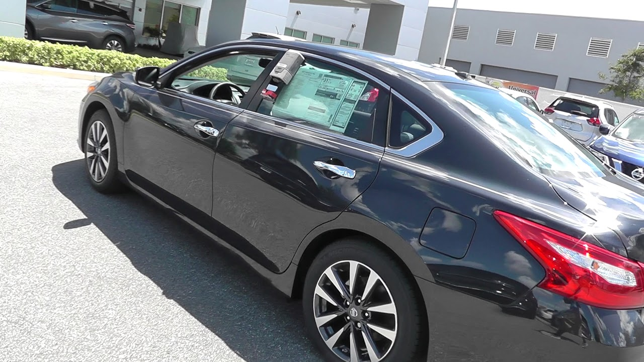 30 Seconds Walk Around Nissan 2017 Altima 2 5 Sl Stock 210159
