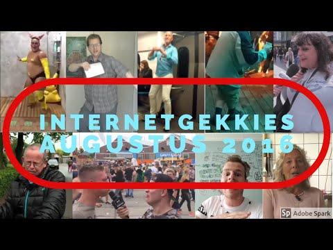 De Internetgekkies van de maand Augustus 2016