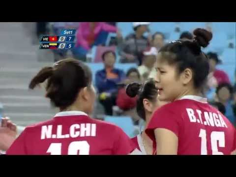 Volleyball Women Bronze Medal Match: VietNam- Venezuela( CISM World Games Mungyeong Korea 2015)