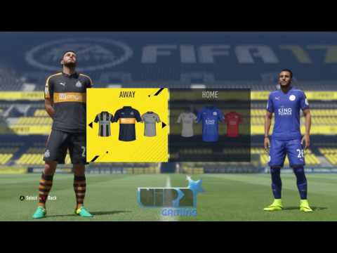 FIFA 17 - Football League Championship Kits