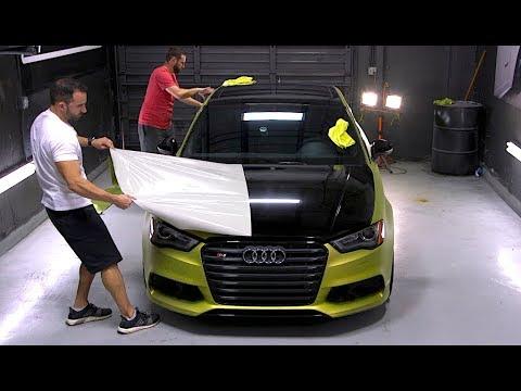 Peeling A Whole Car Dipyourcar Youtube