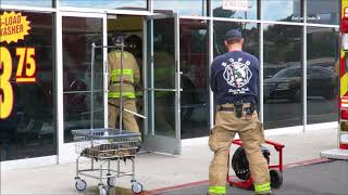 Coin Laundry Dryer Fire In National City 2/10/2018