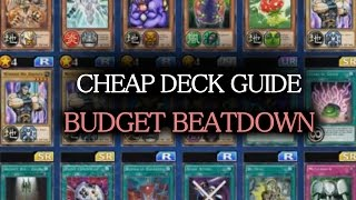 [Yu-Gi-Oh! Duel Links] Deck (CHEAP) Building Guide #1: Beatdown Deck + Basic Principles