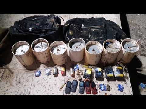 IEDs and components found in Iraq