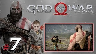 "GOD OF WAR [PS4] (18+) #7 - ""Nie dotykam! To brudne!"""