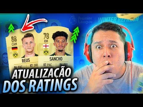 FIFA 19 RATINGS ATUALIZADOS! REUS ficou SINISTRO com esse UPGRADE? thumbnail