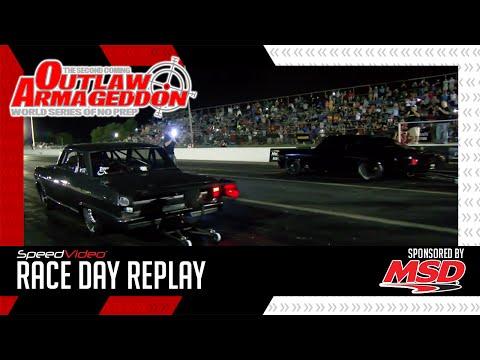 Daddy Dave vs. Murder Nova Grudge Race @ Outlaw Armageddon 2016