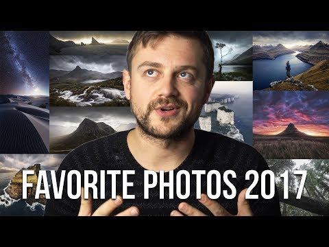 My FAVORITE photos of 2017 and WHY, talking landscape photography composition!