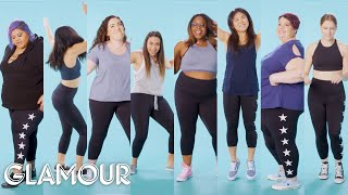 Women Sizes 0 Through 30 Talk About Going to the Gym | Glamour