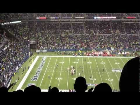 The 12th man is THIS LOUD (Seahawks vs 49ers)