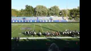 Winterset High School at 2013 Urbandale Marching Band Competition