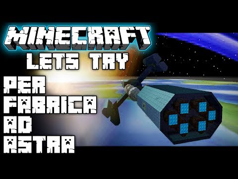 Let's try PER FABRICA AD ASTRA | From TFC to advanced tech! | Minecraft modpack | Mod spotlight