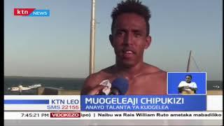 Kijana chipukizi aibuka Lamu katika mchezo wa uogeleaji