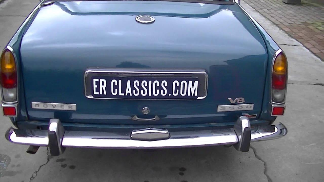Rover 3500 V8 1972 VIDEO