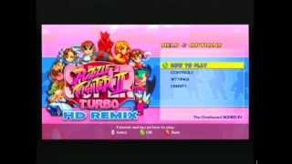 Super Puzzle Fighter II Turbo HD Remix - Starting It Up