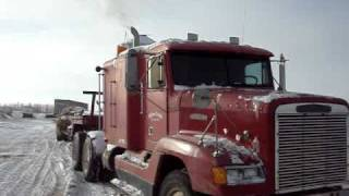 Cold Start Freightliner Detroit Diesel Series 60