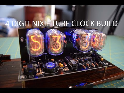 4 Digit IN-12 Nixie Tube Clock Build Using $40 eBay kit