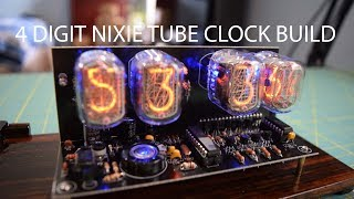 In this video I will show you guys the process of throwing together a 4 digit Nixie Tube clock as a birthday present for one of my