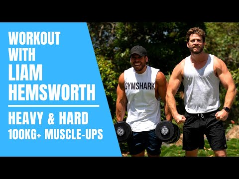 Training with Liam Hemsworth Workout (Actor, Athlete & ANIMAL)