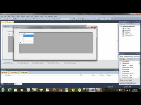 lập trình CSDL vbnet-kết nối với access DB