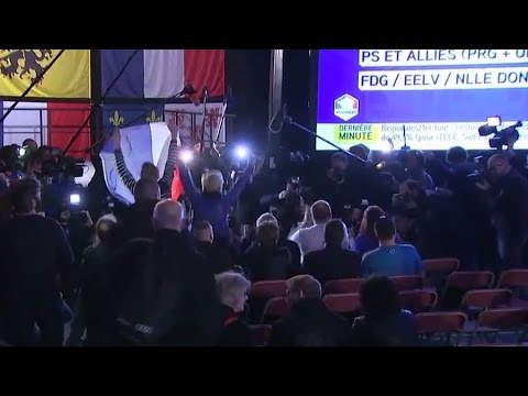 Les images du siège du Front National à Hénin-Beaumont