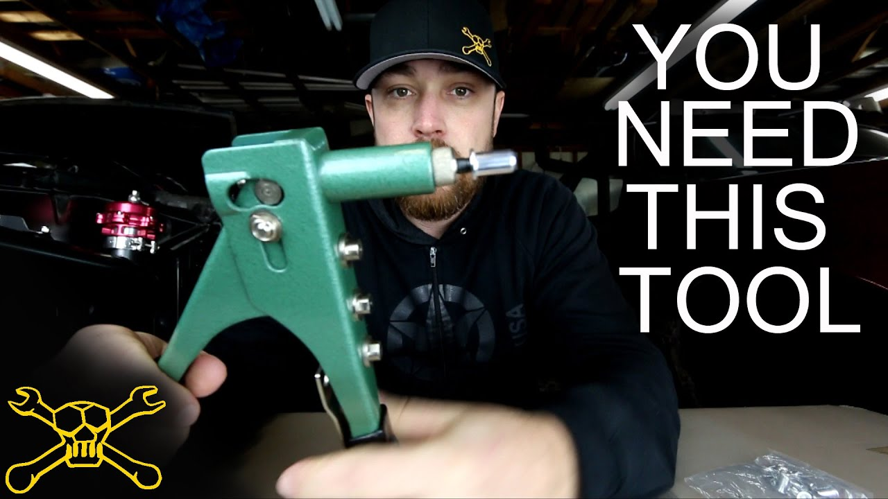 You Need This Tool Episode 8 Rivet Nut Or Nutsert Youtube