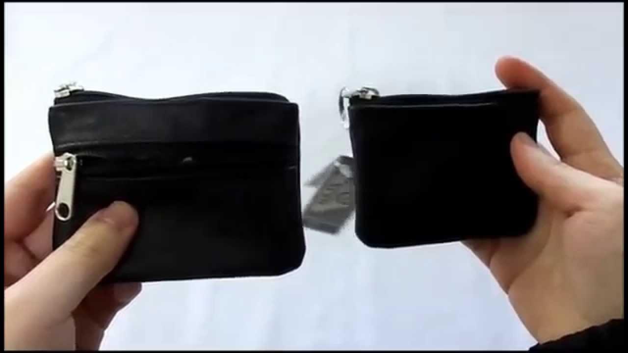 1de29c11c9 Porta Moeda em Couro - YouTube