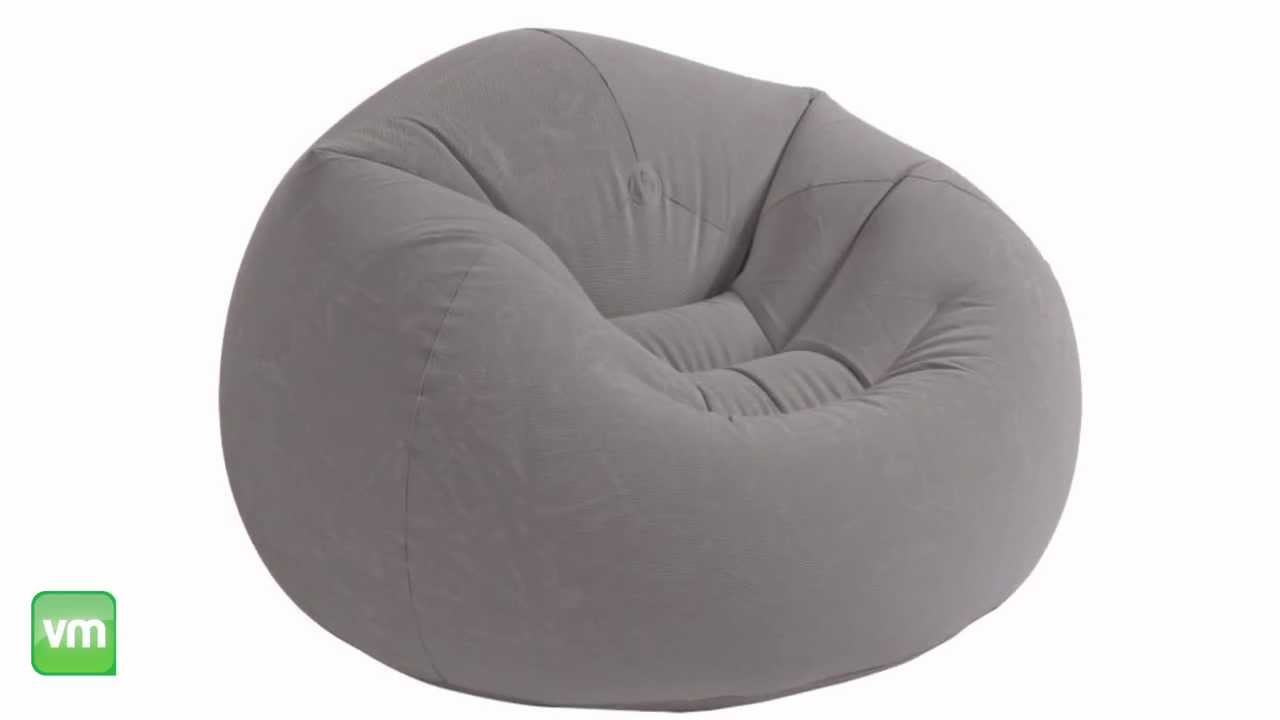 Inflatable Beanless Bag Chair | Intex 68579EP   YouTube