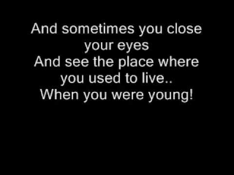The Killers - When You Were Young Lyrics