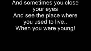 Repeat youtube video The Killers - When You Were Young Lyrics