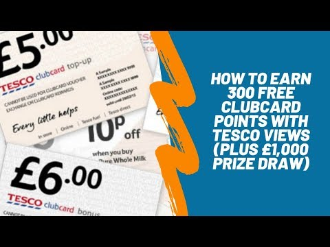 HOW TO EARN 300 FREE CLUBCARD POINTS | Skint Dad