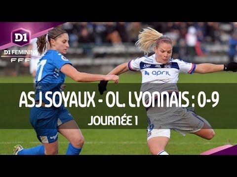 J1 : ASJ Soyaux - Olympique Lyonnais (0-9), le résumé