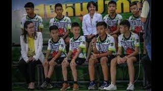 News: Thai boys recount cave rescue, voices in dark