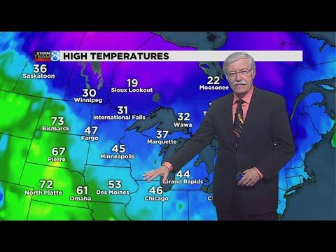 Storm Team 8 forecast: 6 p.m. 112317