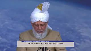 Jalsa UK 2018 - Huzoor's Address Blessings of Allah